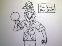 Ping Pong Ball Shirt.